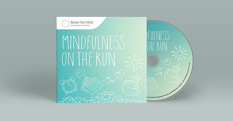 Mindfulness On The Run CD